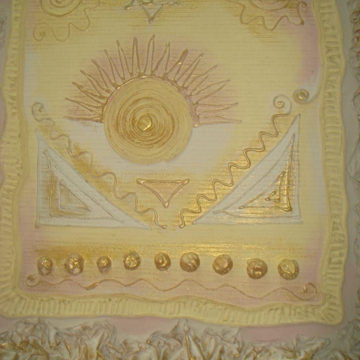 Картина из ткани и силикона. Фото 2