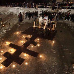 """Окунаться в """"Иордани"""" - традиция праздника Крещение"""