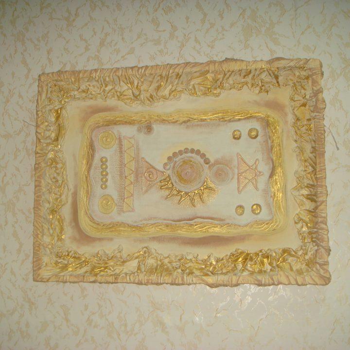 Картина из ткани и силикона. Фото 4