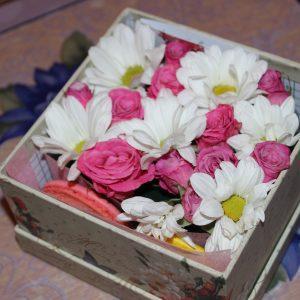 Подарочная коробочка имениннику