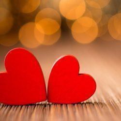 Любовь: два сердца бьются рядом