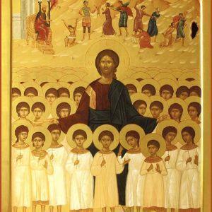 Вифлиемские мученики - убитые Иродом младенцы