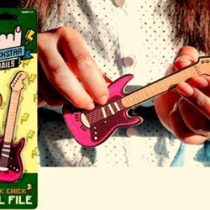 Пилочка для ногтей в форме гитары